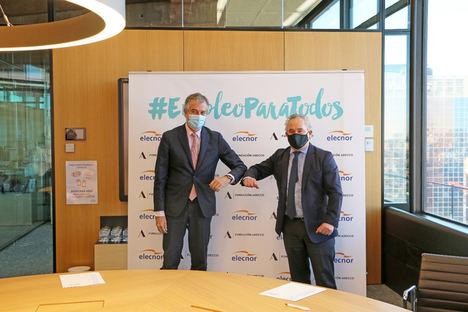 Elecnor se une al proyecto de la Fundación Adecco para impulsar el empleo de las personas más vulnerables y frenar la exclusión social en España