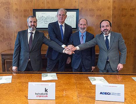 Kutxabank y las organizaciones empresariales vascas priorizarán las 'inversiones 4.0' en la sexta edición del programa 'Makina Berria'