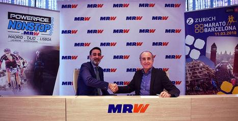 MRW apuesta por el deporte en la Zurich Marató de Barcelona