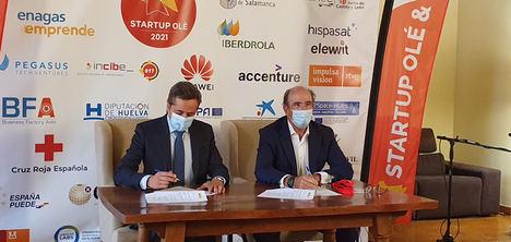 ENISA y Enagás unen fuerzas para impulsar la competitividad y el emprendimiento sostenible español