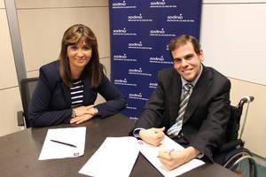 Firma acuerdo Federacion Paralisis Cerebral.