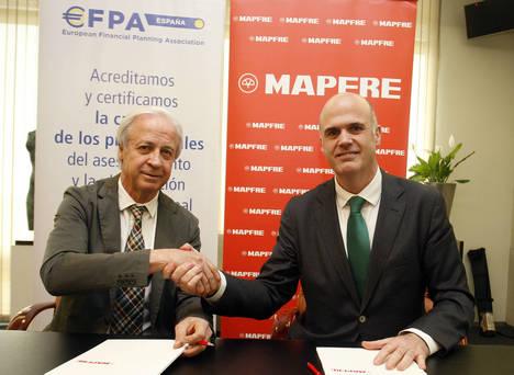 EFPA certificará la formación financiera de los asesores de MAPFRE