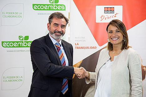 Securitas Direct da un paso más en su compromiso con el reciclaje de la mano de Ecoembes