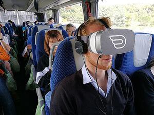 La primera experiencia de Realidad Virtual en autobuses de larga distancia del mundo: FlixBus lanza #FlixVR en las rutas de Las Vegas