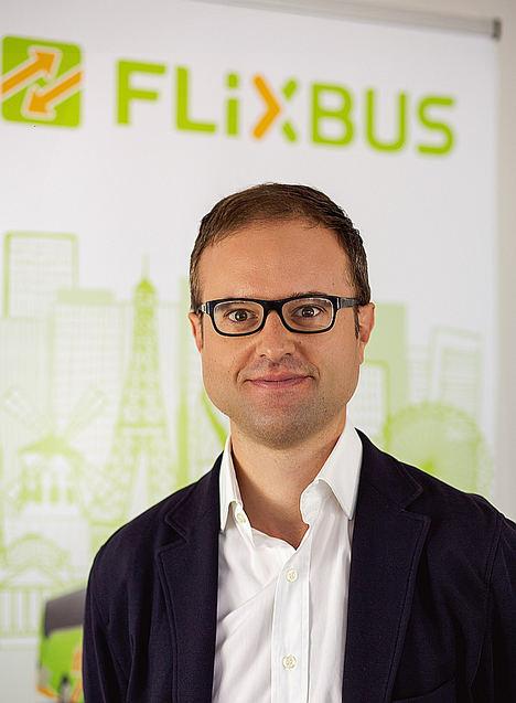 Pablo Pastega, nuevo Director General de España y Portugal de la startup de movilidad europea FlixBus