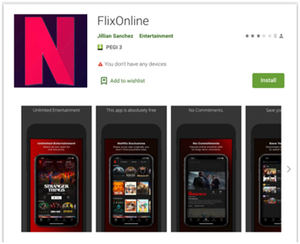 FlixOnline: una aplicación maliciosa para Android disfrazada de 'Netflix'que se propaga a través de mensajes de WhatsApp