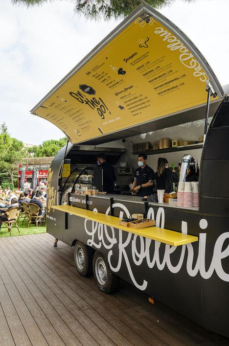 La Rollerie, cadena del grupo Inversiones Venespor, lanza su modelo de negocio Food-Truck