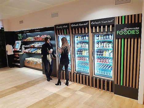 FOODIE'S MicroMarket llega al Banco Santander