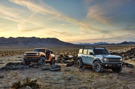 Nuevos modelos Ford Bronco 2021 de dos y cuatro puertas
