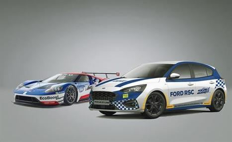 Ford GT vs Focus ST Line