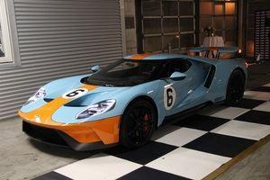 Llegan a Europa las primeras unidades del Ford GT