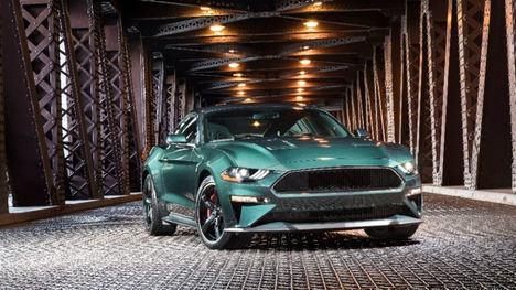 Nuevos Ford Mustang Bullitt™ y Edge ST
