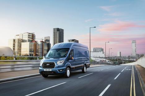 Tecnología aeroespacial y diseño optimizado en la nueva Ford Transit
