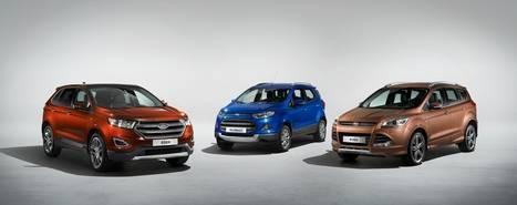 Las ventas de Ford aumentan en Europa