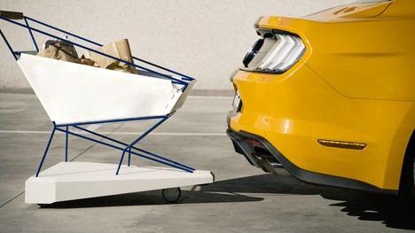 """El """"carrito con freno automático"""" de Ford"""