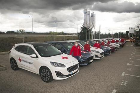 Ford España cede vehículos a Cruz Roja Española