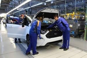 Ford comienza la producción europea del nuevo EcoSport en Rumanía