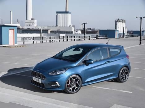 Nueva generación del Ford Fiesta ST