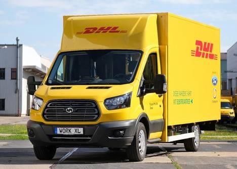 El Grupo Deutsche Post DHL y Ford presentan la primera versión de la furgoneta eléctrica de reparto StreetScooter WORK XL