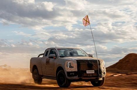 Adelanto de la nueva generación del Ford Ranger