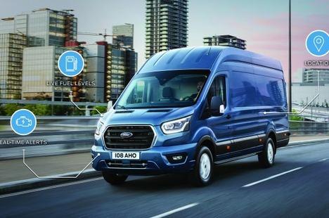Ford impulsa los vehículos comerciales conectados