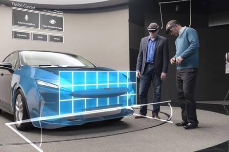 El Departamento de Diseño de Ford realiza pruebas con la Tecnología de Realidad Mixta Microsoft HoloLens