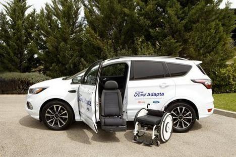 Ford y la Fundación ONCE presentan el prototipo de silla de ruedas eChair