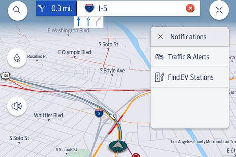 Ford incorpora el servicio global de tráfico de TomTom en su nuevo sistema SYNC para coches conectados