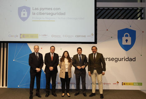 Google arranca en Madrid su programa de ayuda a las pymes en materia de ciberseguridad