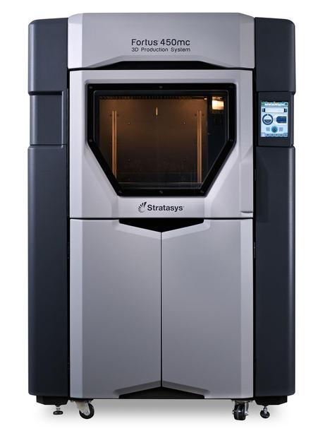 Fortus 450mc 3D Printer.