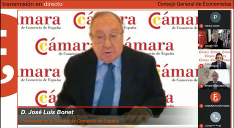 Intervención de José Luis Bonet.