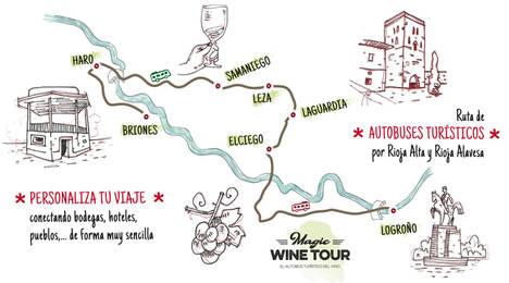 Nace 'Magic Wine Tour', el autobús turístico del rioja