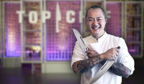 Una vuelta de tuerca a la gastronomía de la Sierra de Aracena en el showcooking 'Canalla' del chef Hung Fai