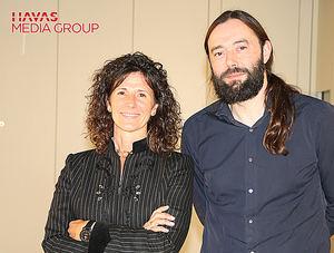 Ester García Cosín, Directora General de Havas Media Group España, y Alfonso González Callejas, Chief Strategy Officer Havas Media Group España.