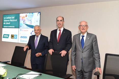 El consejero de Sanidad de Galicia señala a profesionales y pacientes como principales agentes del sistema