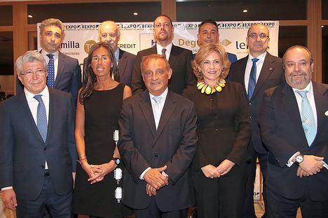 Entrega de premios de Expofinancial 2018