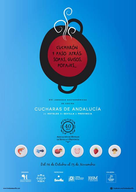 Las XVI Jornadas Gastronómicas de los hoteles de Sevilla contribuirán con parte de su recaudación al Banco de Alimentos de la capital hispalense