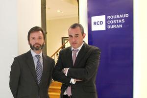Federico Belausteguigoitia, a la izquierda, y Jose María Pastrana.