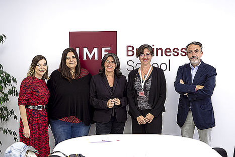 Mesa redonda IMF Business School.
