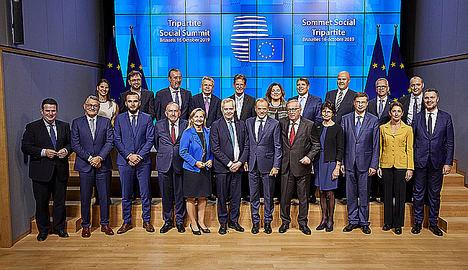 La EFCI participa en la Cumbre Social Tripartita de la UE y destaca la importancia de la perspectiva de la industria de servicios