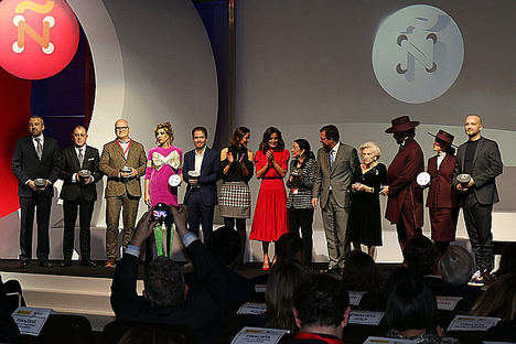Leonor Pérez Pita, galardonada en los Premios Nacionales de la Moda 2018, por su apoyo a la promoción de la industria de la Moda
