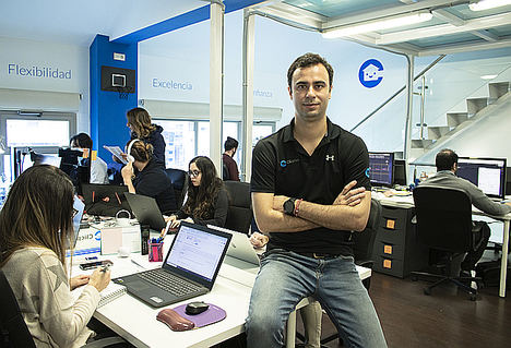 Francisco A. Moreno, CEO y fundador de Clicpiso.