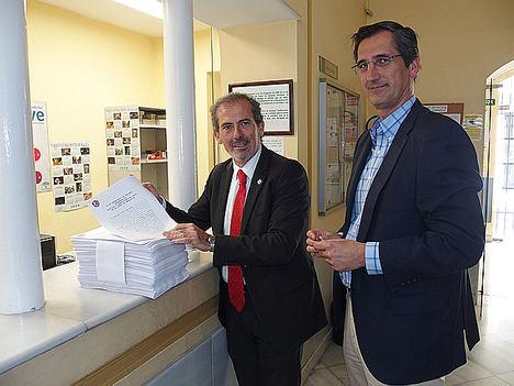El Colegio de Abogados de Málaga presenta a la Junta de Andalucía una reclamación conjunta en nombre de 1.148 letrados por deudas del Servicio de Justicia Gratuita
