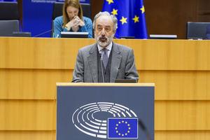 Francisco Millán Mon, eurodiputado popular y miembro de la Comisión de Pesca.