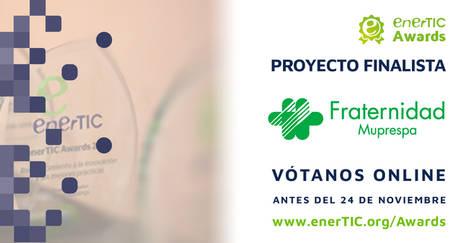 Fraternidad-Muprespa, finalista de los enerTIC Awards 2017