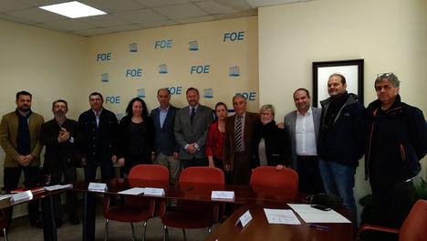 Frente común en la FOE para fortalecer el comercio de Huelva
