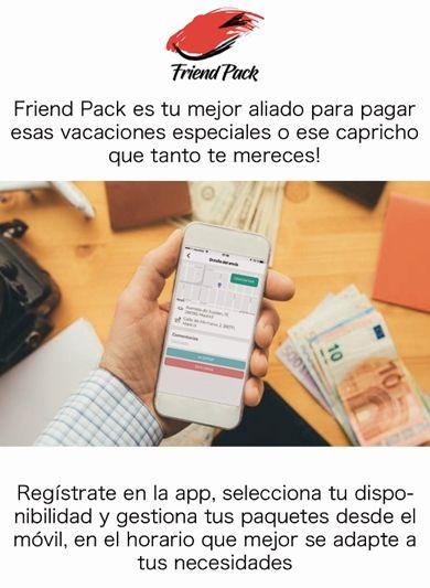 Friend Pack revoluciona paquetería y permite ganar dinero a miles de personas