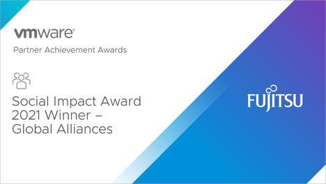 Fujitsu ganadora del Premio VMware 2021 Global Partner Social Impact Award