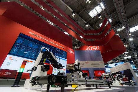 Fujitsu presenta una impresionante variedad de soluciones para la industria manufacturera en Hannover Messe 2019