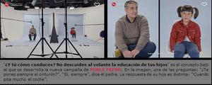 PONLE FRENO realiza un experimento sociológico desde los ojos de los niños para ver cómo conducen sus padres